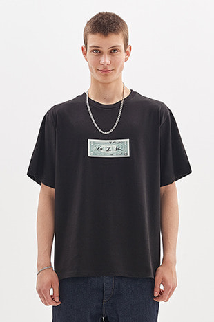 DOLLAR T-SHIRT_BLACK