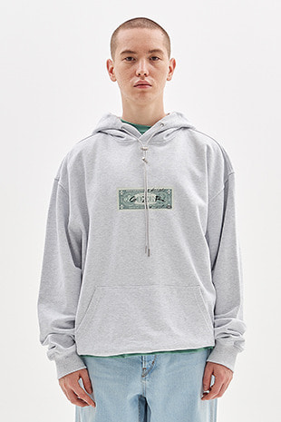 DOLLAR HOODY_GREY