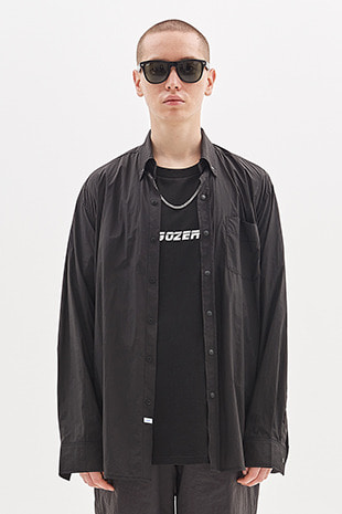 WIND BREAKER SHIRT_BLACK