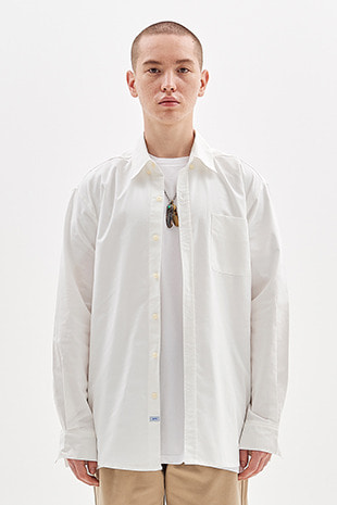 OXFORD SHIRT CLASSIC OVER VERSION_IVORY