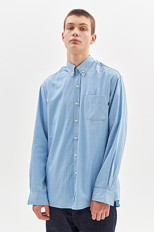 DENIM SHIRT_LIGHT BLUE
